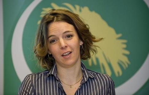 Bertil Ericson / TT Den svenska FN-experten Zaida Catalán mördades i Kongo-Kinshasa i mars 2017. Bilden är tagen i samband med hennes engagemang i Miljöpartiet. Arkivbild.