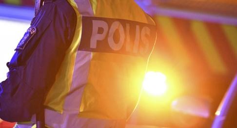 Johan Nilsson/TT Strax före halv tolv på kvällen den 14 september förra året kom larmet om radhusbranden. Nu döms fyra kvinnor till fängelse för grov mordbrand. Arkivbild.