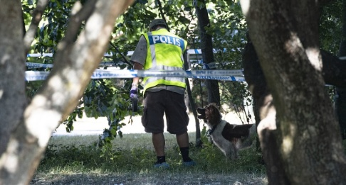 Johan Nilsson/TT En 24-årig man sköts till döds och en man i 30-årsåldern fick livshotande skador vid en skjutning i Nydalaparken i Malmö förra sommaren. En 23-årig man döms nu till livstid för mord och mordförsök. Arkivbild.
