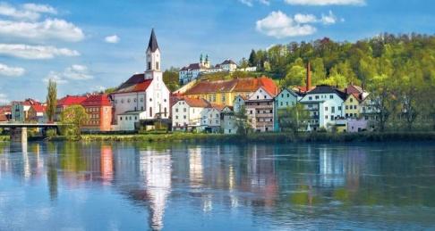 Passau. Foto: Tyska Turistbyåran. Arkivbild.
