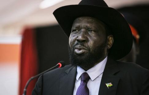 Bullen Chol/AP/TT Salva Kiir är president i Sydsudan. Arkivbild.
