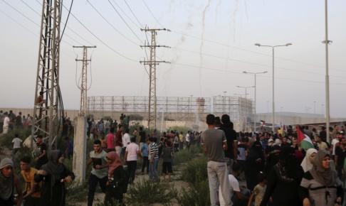 Adel Hana/AP/TT Gränsövergången Erez i Gazaremsan. Arkivbild