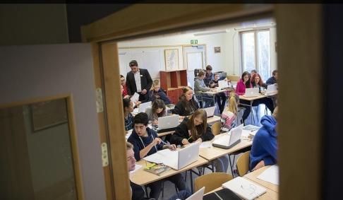 Fredrik Sandberg Sökes: Sydeuropeiska lärare som är beredda att jobba i svenska skolor. Arkivbild.