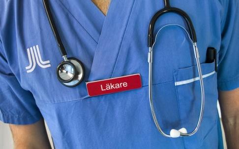 Claudio Bresciani / TT Centerpartiet och regeringen är oense om den nya momsen på inhyrd vårdpersonal. Arkivbild.