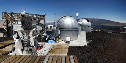 RICHARD VOGEL/AP/TT Mätningarna görs vid Mauna Loa-observatoriet på Hawaii. Arkivbild.