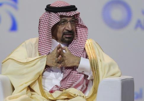Kamran Jebreili/AP Två saudiarabiska oljeledningar har attackerats av drönare, uppger Saudiarabiens energiminister, Khalid al-Falih.