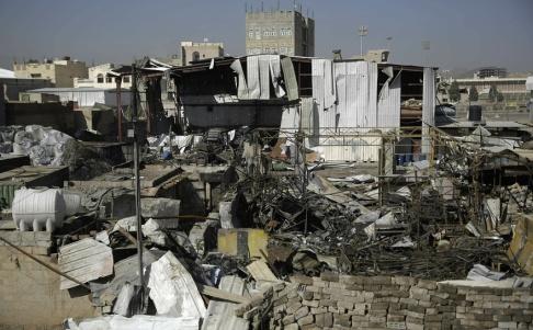 Hani Mohammed Kriget i Jemen har pågått i flera år. Arkivbild från 2018 i staden Sanaa.