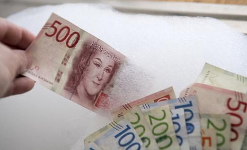 Fredrik Sandberg/TT Antalet rapporter om misstänkt penningtvätt ökar. Arkivbild.