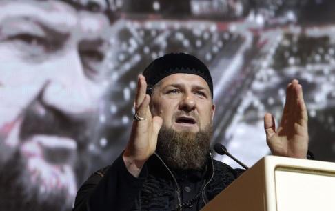 Musa Sadulayev Den ryska delrepubliken Tjetjeniens president Ramzan Kadyrov. Arkivbild.