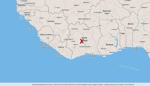 Foto: TT Béoumi, Elfenbenskusten.