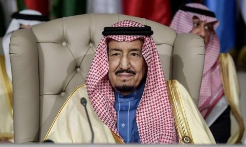 Fethi Belaid/poolfoto via AP/TT Saudiarabiens kung Salman bjuder in ledare för samarbetsländer till ett krismöte efter den senaste veckans angrepp. Arkivbild.