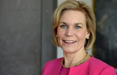 Janerik Henriksson/TT Gunilla Carlsson blir ny chef för FN:s aids- och hivprogram Unaids. Arkivbild.