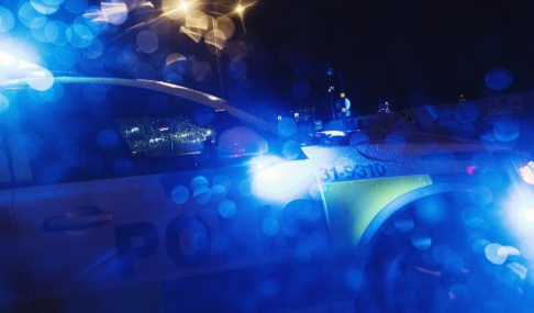 Stina Stjernkvist/TT Polisen larmades efter att en pojke blivit knivskuren i Varberg. Arkivbild.
