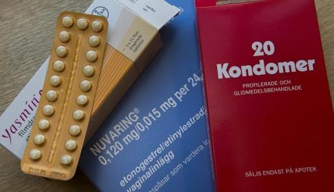 Jonas Ekströmer/TT Preventivmedel som eventuellt kan komma att bytas ut mot en kräm. Arkivbild.