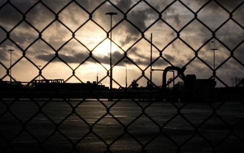 Peter Dejong/AP/TT Gasfältet i Groningen, som ofta drabbas av mindre skalv, drivs av bolaget Nam. Arkivbild.