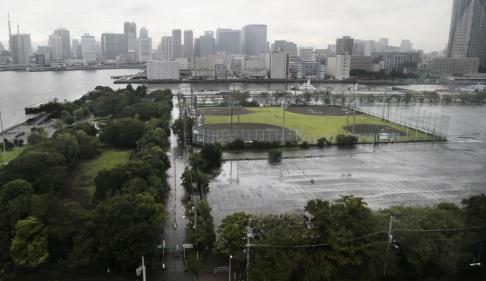Koji Sasahara/AP/TT Ett jordskalv med magnituden 5,1 har skakat Tokyo. Arkivbild.