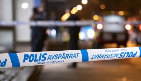 Johan Nilsson/TT Gatan spärrades av efter olyckan. Arkivbild.