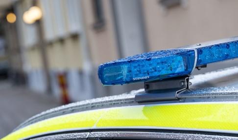 Johan Nilsson/TT Fem personer greps i Västerås natten till lördag misstänkta för människorov. Alla fem anhölls senare. Arkivbild.