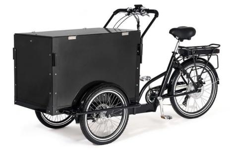 Polisen/TT Polisen vill ha tips om en lådcykel som kan ha samband med explosionen i Linköping. Cykeln kan ha annan färg eller utformning än den på bilden som polisen lagt ut.