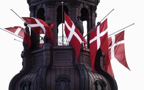 DRESLING JENS Den danska flaggan har en spektakulär historia och under lördagen firar den 800 år. Arkivbild.