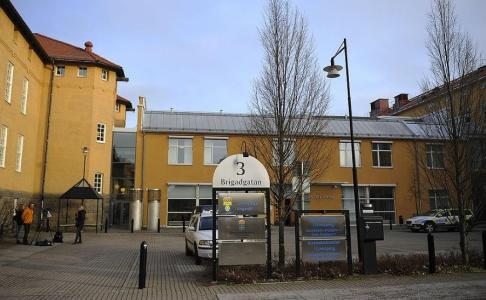 Per Larsson/TT Linköpings tingsrätt. Arkivbild.