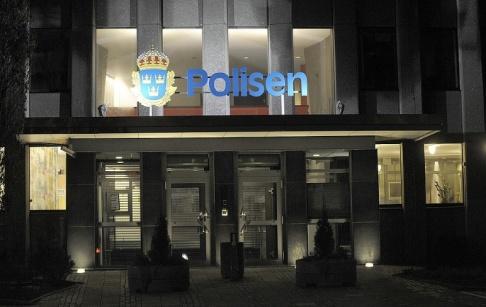 Fredrik Sandberg / TT En man misstänks för mordbrand i en cell på polishuset i Västerås. Arkivbild.