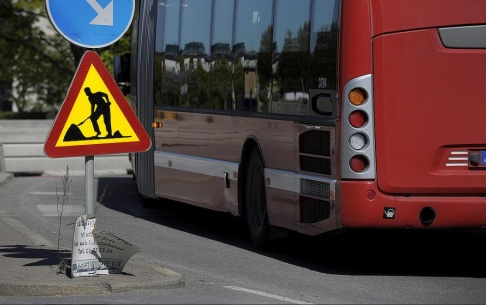 JANERIK HENRIKSSON / TT En busschaufför misshandlades av två passagerare. Genrebild.