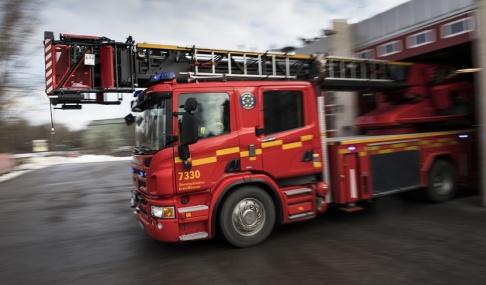 Pontus Lundahl/TT Hotellgäster och andra boende i Tibro fick evakuera på grund av en butiksbrand under natten mot lördag. Genrebild.