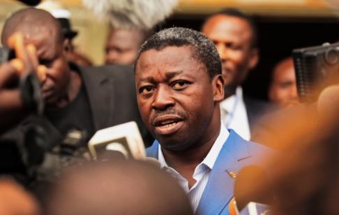 Erick Kaglan/AP/TT Faure Gnassingbe är president i Togo. Arkivbild.