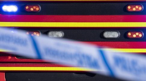 Johan Nilsson/TT En man omkom i en ladugårdsbrand i utanför Helsingborg. Arkivbild.