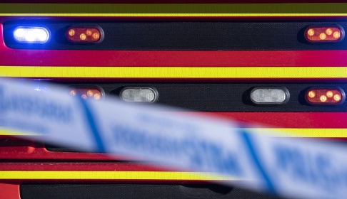 Johan Nilsson/TT En man har omkommit i en brand i en lägenhet i Lund. Arkivbild.