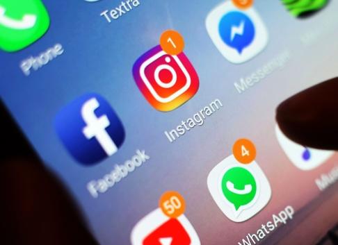 Idag har det varit tekniska problem med flera sociala medier sedan kl 16 svensk tid. Foto: Yui Mok. Pa Photos/TT Nyhetsbyrån.