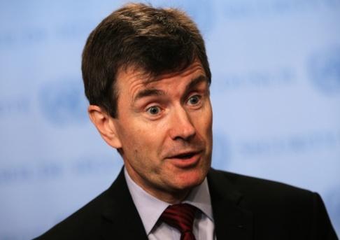 Seth Wenig/AP/TT John Sawers, före detta chef för brittiska underrättelsetjänsten MI6 och tidigare FN-ambassadör