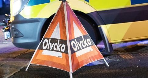 Johan Nilsson/TT Minst en person har skadats allvarligt i en olycka i Nyköping. Arkivbild.