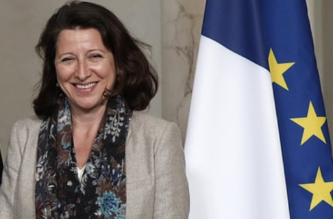 Benoit Tessier Frankrikes hälsovårdsminister Agnès Buzyn. Arkivbild.