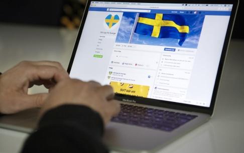 """Jessica Gow/TT Den man som dömdes för att inte ha plockat bort rasistiska kommentarer från Facebookgruppen """"Stå upp för Sverige"""" har överklagat domen. Arkivbild."""