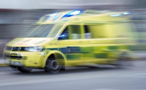 Stina Stjernkvist/TT Fyra barn har förts till sjukhus efter att en hoppborg rasat. Arkivbild.