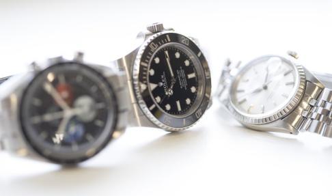 Torstein Bøe/NTB/TT Flera av klockorna som stulits har varit av märket Rolex och varit värda uppemot 300 000 kronor. Arkivbild.