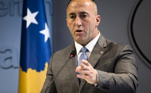 Visar Kryeziu Ramush Haradinaj avgår som premiärminister i Kosovo. Arkivbild.