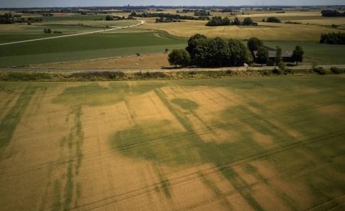 Andreas Hillergren/TT Förra sommaren uppmättes mycket låga grundvattennivåer på många platser i landet. I år är situationen något bättre. Arkivbild.