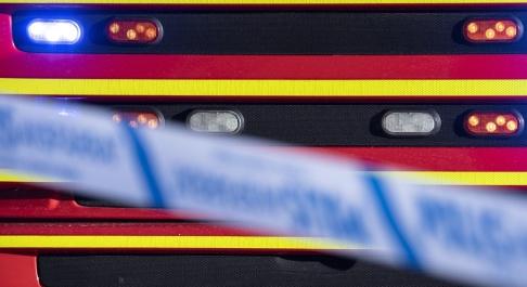 Johan Nilsson/TT Räddningstjänsten larmades till en brand i Lund. Arkivbild.