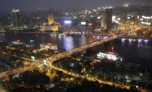 Hassan Ammar/AP/TT Tragedin inträffade i tät trafik i centrala Kairo. Arkivbild.