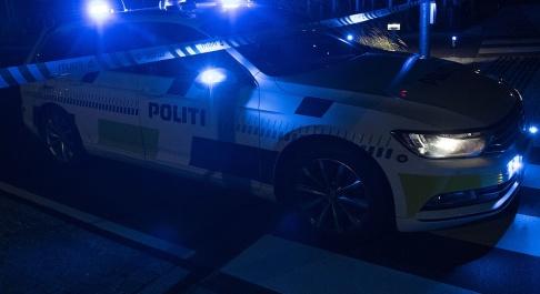 Johan Nilsson/TT Polisen utreder vad som orsakade nattens smäll på Nørrebro. Arkivbild.