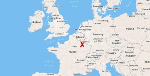 TT En kraftig virvelstorm härjade på fredagen staden Pétange i sydvästra Luxemburg.