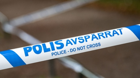 Johan Nilsson/TT Polisen utreder ett misstänkt mordförsök i Nacka utanför Stockholm. Arkivbild.