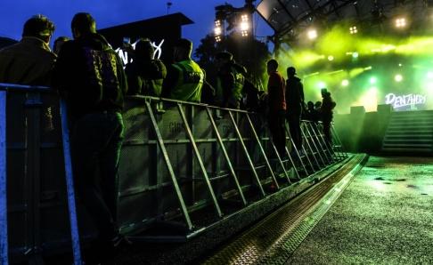 Anders Wiklund/TT Polisen utreder två misstänkta våldtäkter på ungdomsfestivalen We are Sthlm i centrala Stockholm. Bilden är från festivalen 2016. Arkivbild.