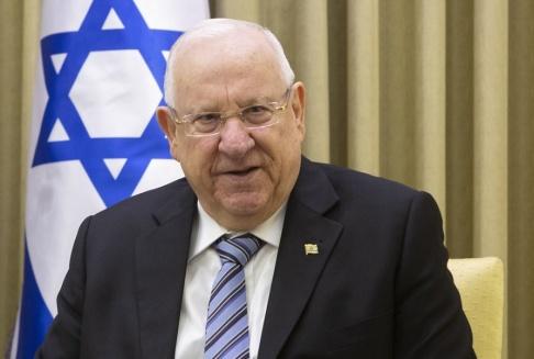 Sebastian Scheiner/AP/TT Israels president Reuven Rivlin skyndade att tala med Demokraterna när Donald Trump gjorde Israel till föremål för partipolitisk diskussion. Arkivbild.
