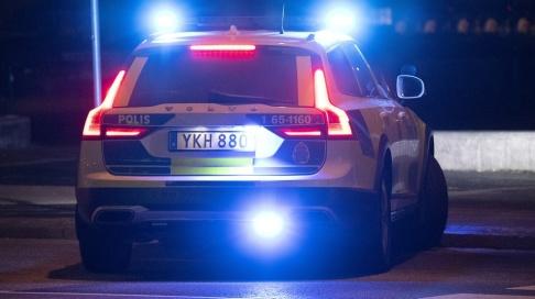 Johan Nilsson/TT Kvinnan stoppades för kontroll natten till fredagen. Arkivbild.
