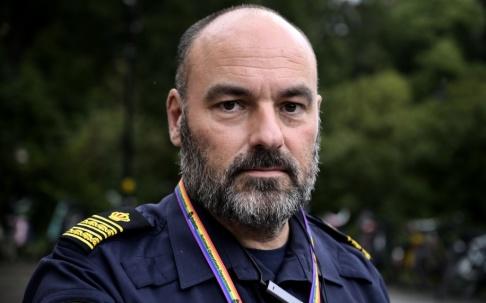 Janerik Henriksson/TT – Den grundläggande utbildningen är viktig, men det är ännu viktigare med kontinuerlig vidareutbildning, säger gränspolischef Patrik Engström.