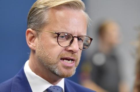 Anders Wiklund/TT Inrikesminister Mikael Damberg (S). Bild från tidigare i augusti.